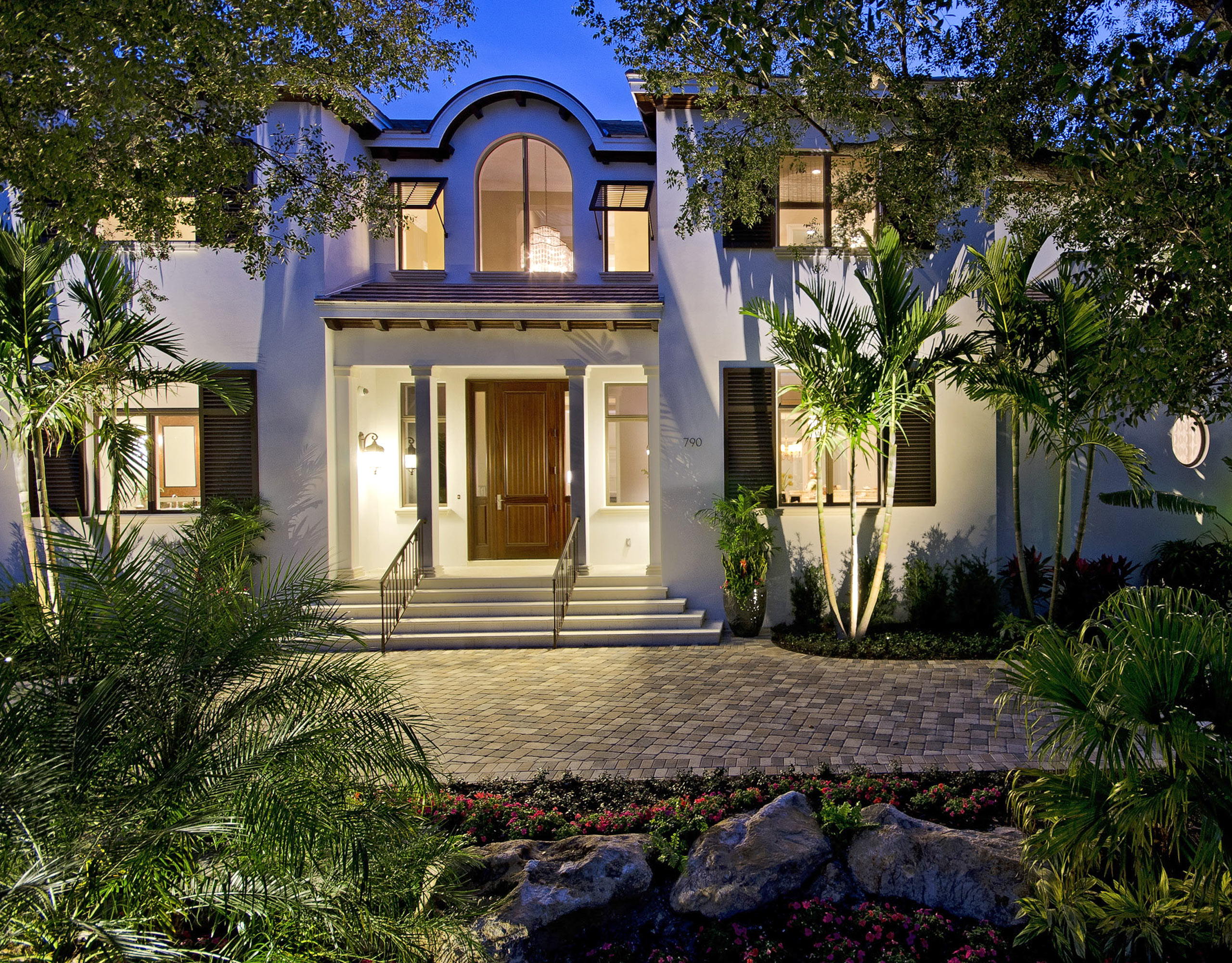 Front Door Exterior Design | Naples, Florida | Stiles-Sowers Construction, Inc