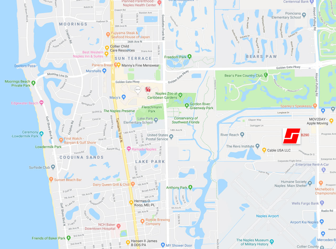 Map | Naples, Florida | Stiles-Sowers Construction, Inc